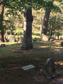 Site of Louisa M. Alcott's Grave